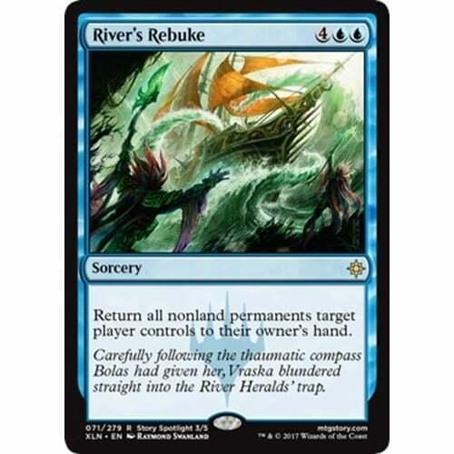 Magic Ixalan River/'s Rebuke The Gathering