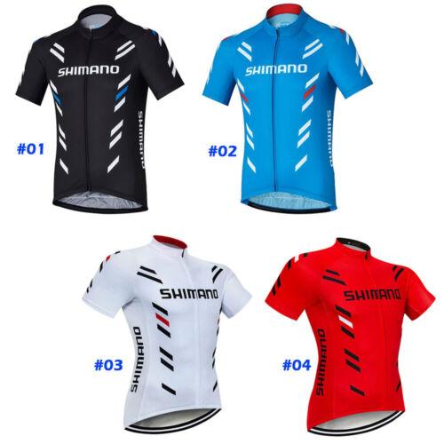 Men Cycling Jersey Short Sleeve Bike Shirt Motocross MTB Sports Jacket Clothing