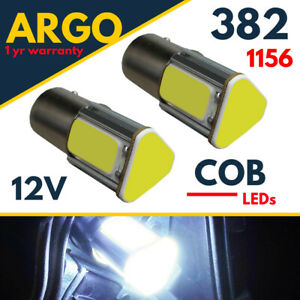 382-1156-Led-White-P21w-Bayonet-Brake-Tail-Light-Ba15s-Reverse-Fog-Xenon-Bulbs