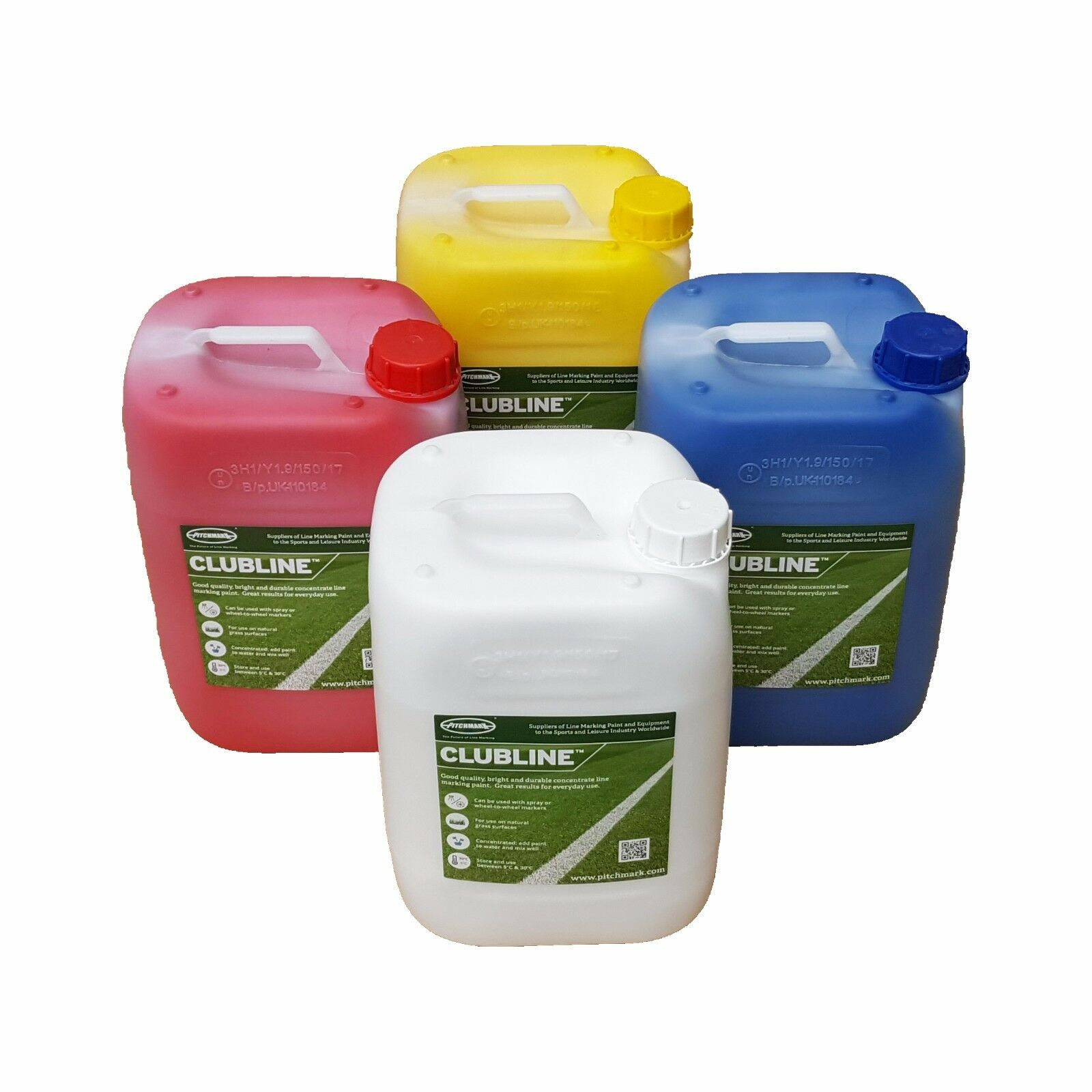Clubline Concentrate Line Marking Paint for Football Pitches - Colours Available