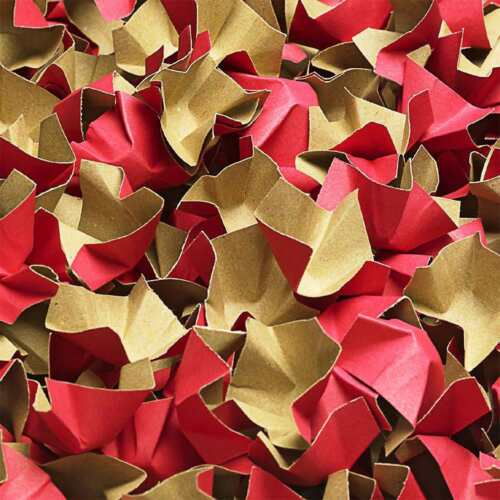 EUR 0,22//L-EUR 0,24//L DECOFILL ROT Papier Verpackungschips Polsterchips