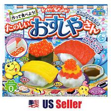 KRACIE Happy Kitchen Popin Cookin DIY SUSHI, Make Japanese Sushi candy POPPIN