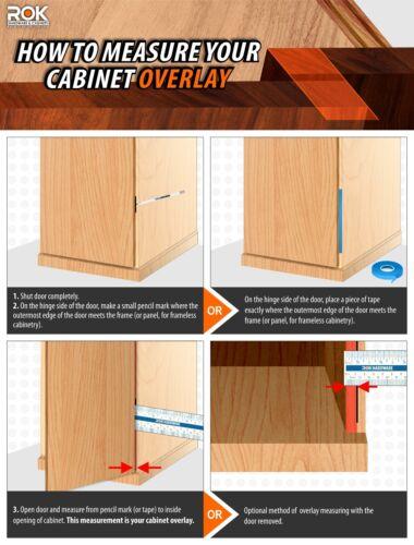 "Blum 39 C Cabinet Hinges Compact 1/"" Overlay Self Close Press in Dowel 39C358C.16"