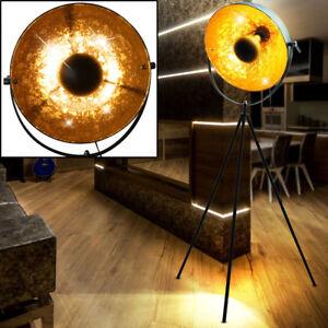 schwarz gold decken fluter boden stehlampe zimmer film. Black Bedroom Furniture Sets. Home Design Ideas
