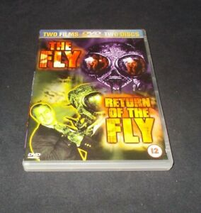 The-Fly-amp-Return-of-the-Fly-DVD-2-disc-set-Region-2
