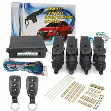 Universal 4 Door Remote Control Car Central Lock Locking Keyless Entry System
