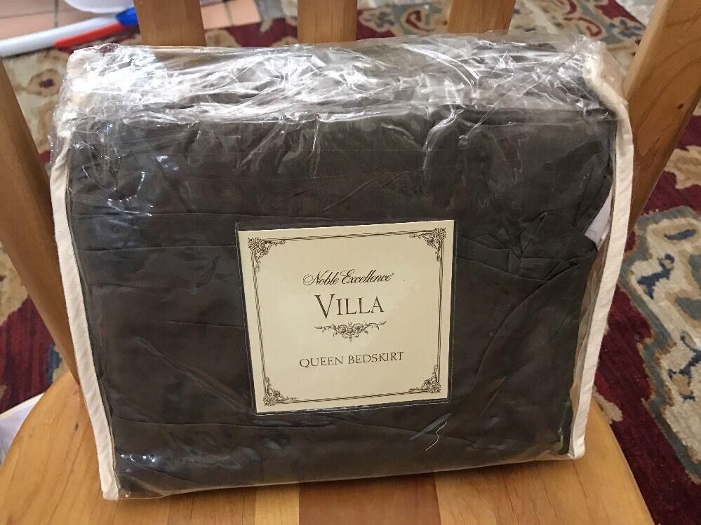Noble Excellence Villa Milano Queen Bedskirt Bed Skirt New Sage-Kbdskt