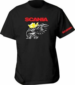 i t shirt scania lkw fun herren abis bus spr che bis. Black Bedroom Furniture Sets. Home Design Ideas