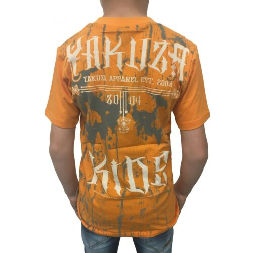 "YAKUZA Kinder T-Shirt TSB 10403 Kids /""Inked In Dark/"" blazing orange"