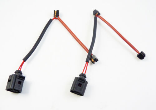 2Pcs New Brake Pad Wear Sensor Indicator Rear For VW TOUAREG Audi Q7 7L0907637C