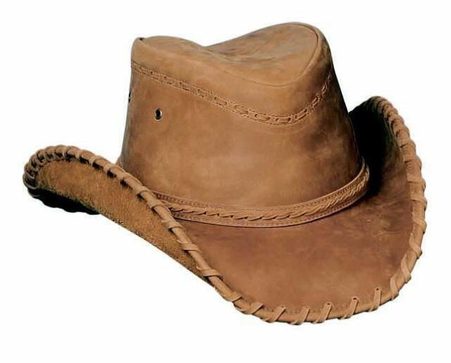 6a83cebaa55 Bullhide Hats Sydney Leather Shapeable Brim Western Cowboy Hat 0452t ...