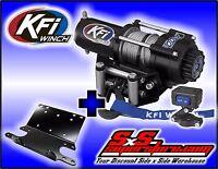 2500 Lb Kfi Steel Winch Mount Combo -honda Foreman 400 95-03 And 450 98-04