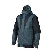OAKLEY BANFIELD Jacket Breathable Waterproof Mens S SM RECCO SNOWBOARD SKI BLUE