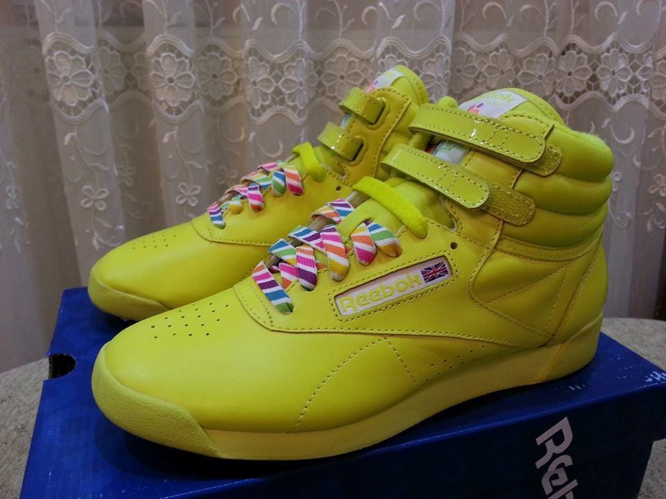 Reebok Freestyle HIGH  REIGN-BOW  International Brand New, Style No -V52925-