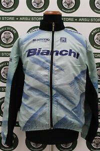 giacca jacket ciclismo BIANCHI TG L E794 bike shirt maillot trikot jersey