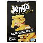 Gold Jenga From Hasbro Golden Block Stacking Game