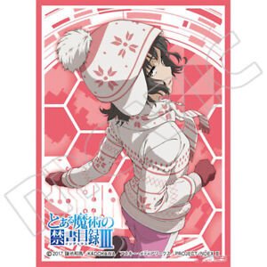 Certain Magical Index Mikoto Misaka Worst Card Game Character Mat Sleeves MT675