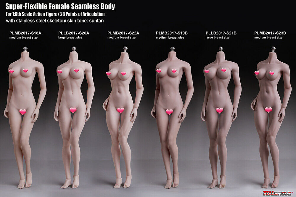 1 6 Phicen TBLeague sexy athletic female action figure busty (UK stock) S22A