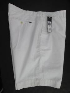 in Ralph slim fit uomo 887436166100 cotone piatto Polo bianco 40 Pantalone Lauren Nwt davanti da 0dCxqFw