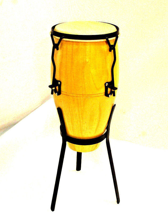Nice Great Sound Baby Conga Drum with Stand Practicing Kid Rare Gift Percussion