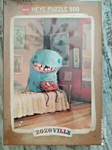 Puzzle 500 HEYE Zozoville - Milk Tooth