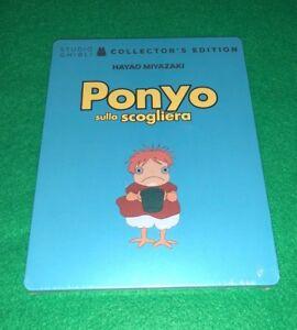 :-) PONYO SULLA SCOGLIERA - STEELBOOK (BLU-RAY+DVD) - STUDIO GHIBLI - NUOVO (-: - Italia - :-) PONYO SULLA SCOGLIERA - STEELBOOK (BLU-RAY+DVD) - STUDIO GHIBLI - NUOVO (-: - Italia