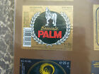VINTAGE BELGIUM BEER LABEL. PALM BREWERY - PALM SPECIAL BEER 30 CL