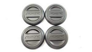 *SET OF 4* RZR WHEEL TIRE RIM HUB CAP COVER  *NEW* - RZR XP 1000 XP1K XP4 *READ*