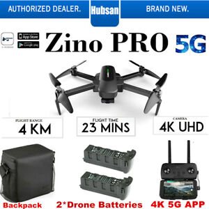 Hubsan Zino PRO 5KM Wifi APP Combo Quadcopter Drone-3Gimble+
