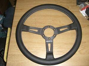 Lenkrad-Sportlenkrad-Steering-wheel-Lancia-Delta-Integrale-Abarth-350mm