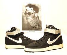 1980s Nike Vandal Supreme Canvas Size 8 Stage-worn by NILS LOFGREN E Street Band