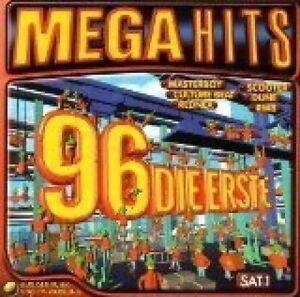 Mega-Hits-96-Die-Erste-Masterboy-Scooter-Dune-Culture-Beat-RMB-2-CD