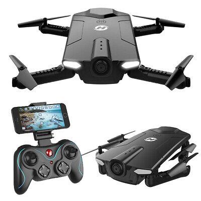 Holy Stone HS160 Foldable FPV RC Drone WiFi HD Camera RTF Quadcopter f. Beginner