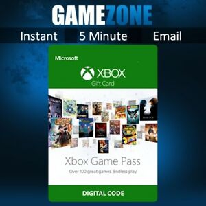 1 Month Xbox Game Pass TRIAL Membership Subscription (Xbox One/360)