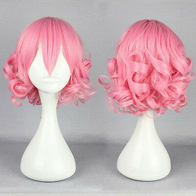 Lolita Short Long Curly Wavy Hair Full Wigs Harajuku Anime Cosplay Wig Party