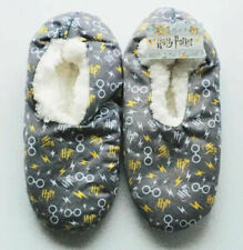 Harry Potter Slippers New Fuzzy Bed Grip Socks Size S//M Lot of 2 Pairs