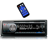 Car Stereo Am Fm And Mp3 Radio Receiver Aux With Usb Port And Built In Bluetooth