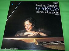 Granados Goyescas - Alicia de Larrocha - Los Majos enamorados - Decca LP