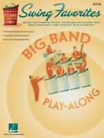 Swing Favorites Alto Sax Big Band Play-along Book And Cd 007011313