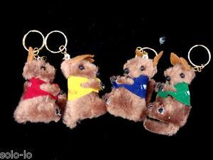 10-Mini-Keyrings-Kangaroo-Cute-Gift-Australian-Souvenir-Clip-On-Brand-New