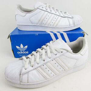 blanc cuir Triple Originals Baskets Adidas Uk 8 en 42 5 Superstar 5 Eu WqXZnnY