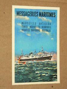 Carte postale Messageries Maritimes Paquebot Antilles Postcard boat bateau Iup0OMrb-09162442-978378446