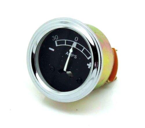 Amperímetro 40mm diámetro se adapta a Massey Ferguson 35 65 135 165 168 175 178 185 188