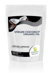 Coconut-Oil-Virgin-1000mg-x30-Softgel-Capsules-Letter-Post-Box-Size