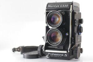 Pro-S-Exc-5-Mamiya-C330-Pro-S-TLR-Film-Camera-105mm-f3-5-DS-Blue-dot-Japan