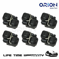 For 98-06 Mercedes-Benz C CLK ML Class Set of 6 Ignition Coil on Plug Coils Pack