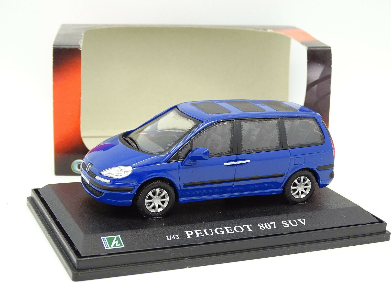 Cararama Oliex 1 43 - Peugeot 807 bluee