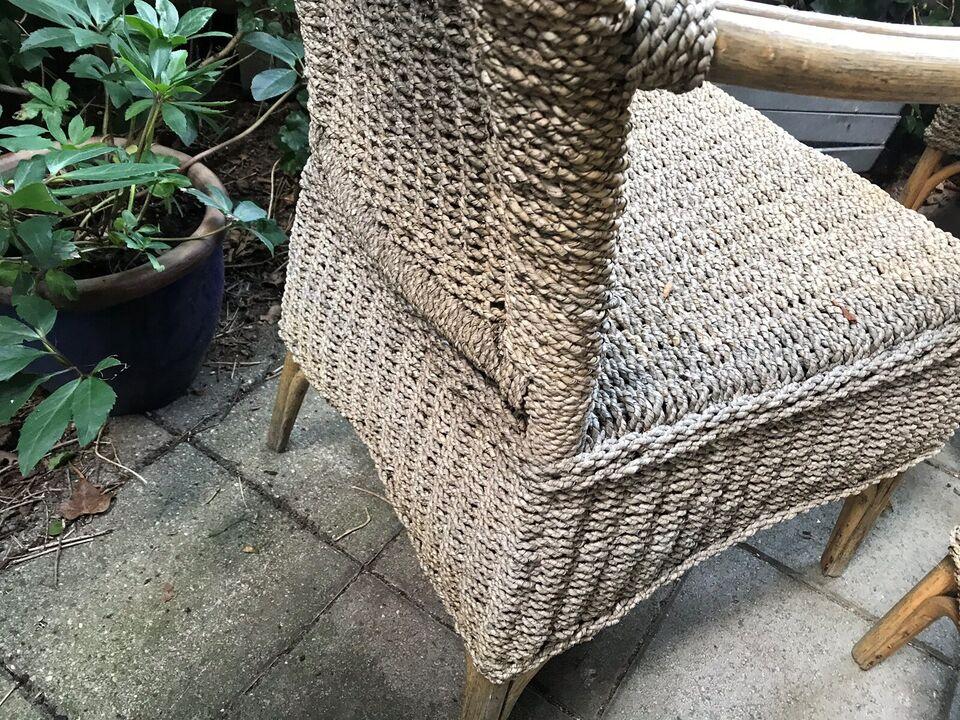 Havestole, Ukendt, Flet / bambus