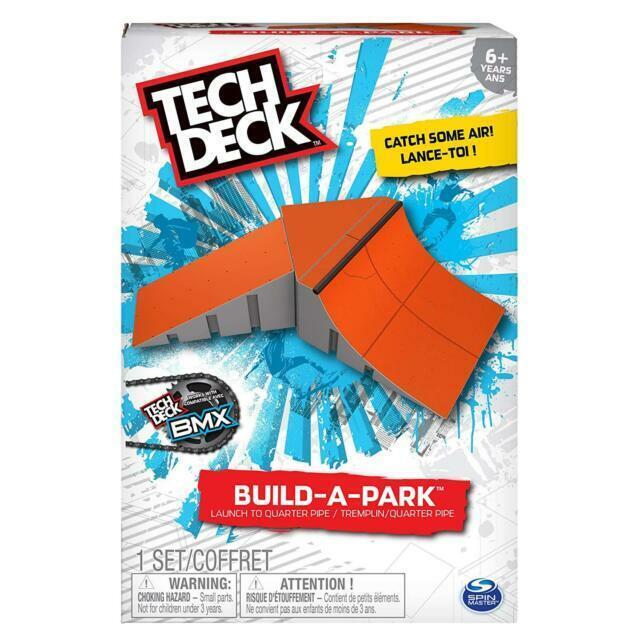 Tech Deck Build-A-Park Launch To Quarter Pipe Set