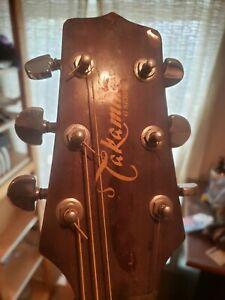 takamine acoustic electric guitar